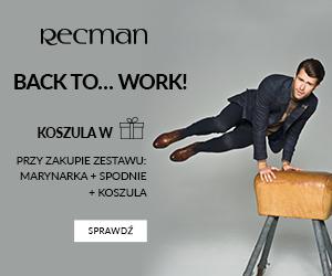 Koszula w prezencie od Recman!