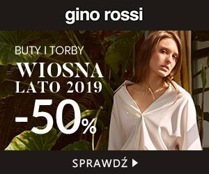 W Gino Rossi -50% na torby i buty!