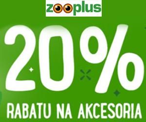 -20% na akcesoria dla zwierząt!