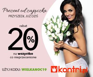 Rabat 20% na wszystko!