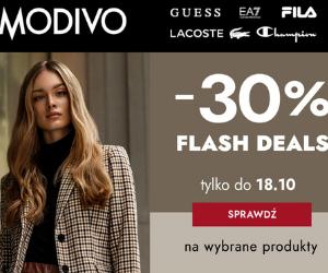Flash Deals -30% w Modivo