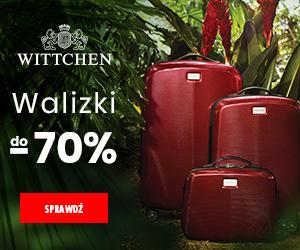 Wittchen: walizki taniej!