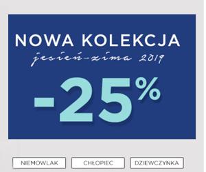 Kolekcja jesień/zima - 25%!