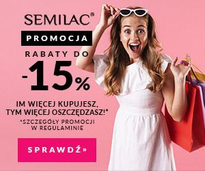 Do 15% rabatu w  Semilac!