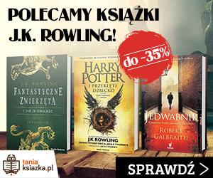 Książki JK Rowling do - 35%