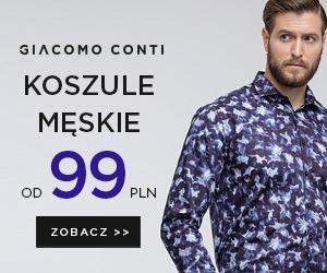 Giacomo Conti: koszule od 99 zł