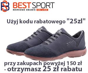 - 25 zł w Best Sport!