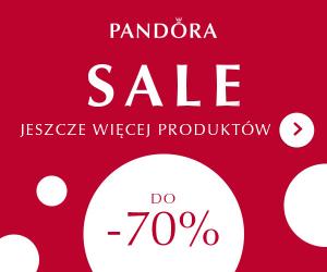 Pandora: -70% taniej!