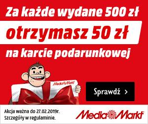 Media Markt: Zyskaj 50 zł!