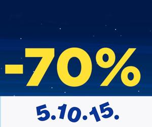 Noc Zakupów! Rabaty do-70%.