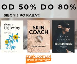 Do -80% rabatu na książki!