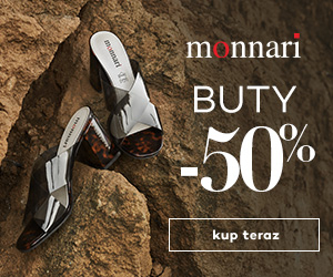 Buty -50% w Monnari!