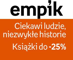 Książki do 25% taniej!
