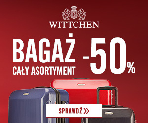 Walizki -50%