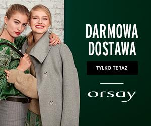 Darmowa dostawa w Orsay!