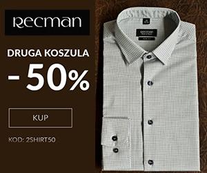 Koszula Recman -50%!