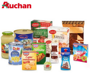 Zakupy spożywcze online w Auchan