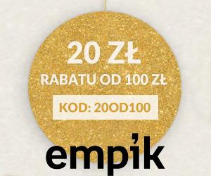 Rabat 20 zł w Empik