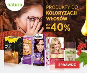 Koloryzacja włosów do -40%!