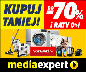 W Media Expert taniej do -70%