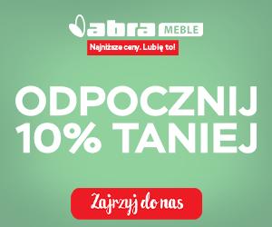 -10% zniżki w Abra Meble!