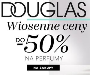 Perfumy -do 50% w Douglas