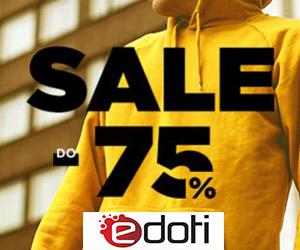 Sale do -75% w Edoti!