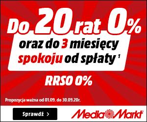 20 rat 0% w Media Markt