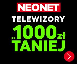 Telewizory do 1000 zł taniej!