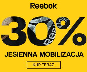 -30% zniżki w Reebok!