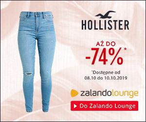 Ubrania Hollister do -74% taniej!
