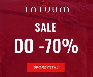 Sale do -70% w Tatuum!