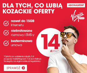 Virgin Mobile już od 14 zł!