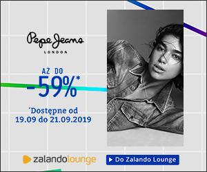 Produkty Pepe Jeans taniej do 59%!