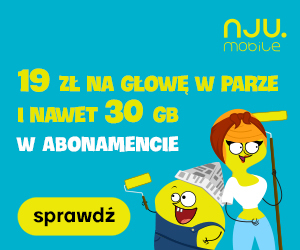 Do 30 GB za 19 zł w Nju Mobile