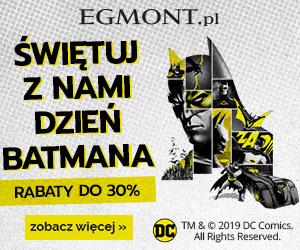 Batman -30% w Egmont!