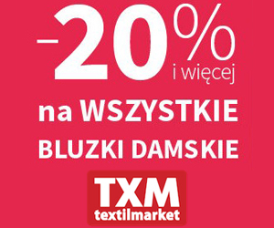 Bluzki dla pań -20%