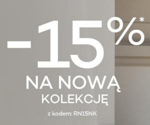 -15% na nową kolekcję!