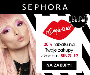 Sephora 20% rabatu!