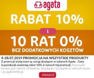 Rabat 10% plus 10 rat 0%!