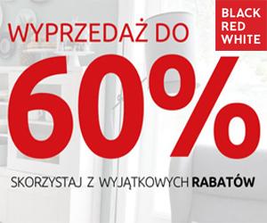 Do -60% w Black Red White
