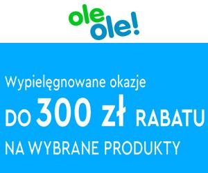 Do 300 zł rabatu w OleOle!