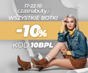 -10% na wszystkie buty