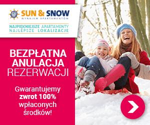 Apartamenty w ofercie Sun&Snow