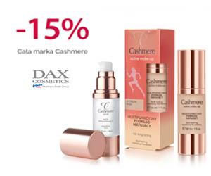 Kosmetyki Cashmere -15% taniej!