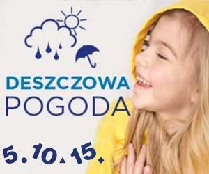 Promocja na deszczową pogodę!