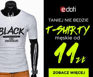 T-shirt męskie od 11 zł!