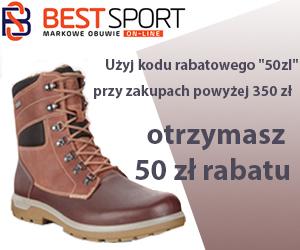 - 50 zł w Best Sport!