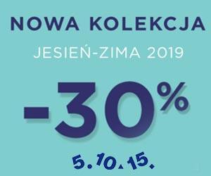 Kolekcja jesień/zima - 30%!