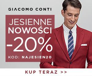 Giacomo Conti: moda męska -20%